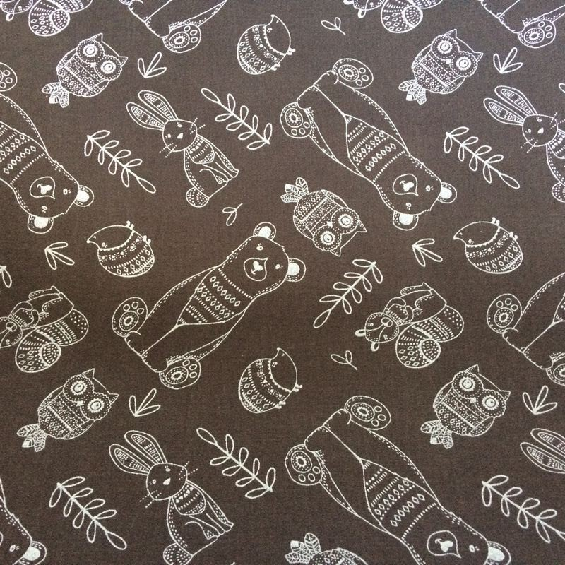 "Tissu Art gallery Fabrics ""OURS"""