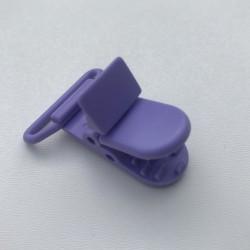 Clip / Attache tétine - violet