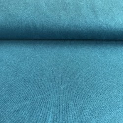 Tissu jersey bleu essence