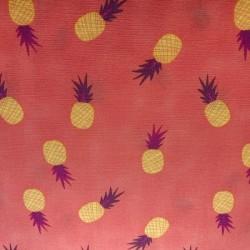 "popeline de coton Art gallery Fabrics ""Ananas """