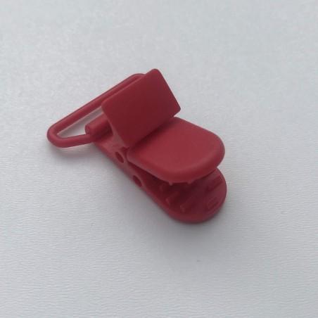 Clip / Attache tétine - Rouge
