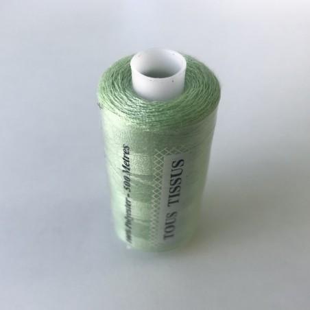 Fil tous tissus 500m - Vert Anis