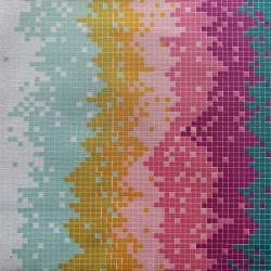 "Tissu coton AGF ""Pixels pop..."