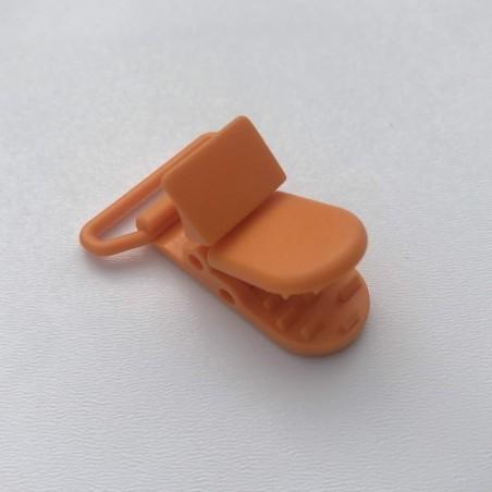Clip / Attache tétine - Orange