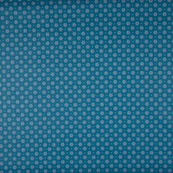 Tissu coton popeline petites fleurs