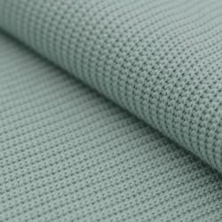 Tissu maille Big Knit vert eau
