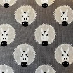 """Tissu coton Camelots Fabrics """"Zèbres"""""""