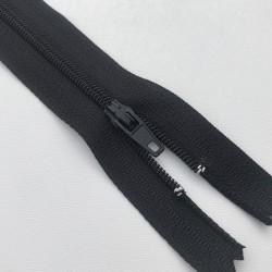 Fermeture éclair zip nylon 20cm noir