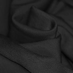 Tissu sweat noir