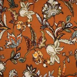 Tissu viscose Spandex imprimé fleurs