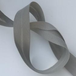 Biais 20mm gris clair