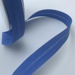 Biais textile 20mm bleu roi  (vendu au mètre)