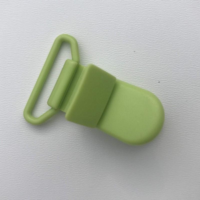 Clip / Attache tétine - Vert anis