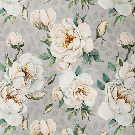 Tissu numérique un bouquet pour toi