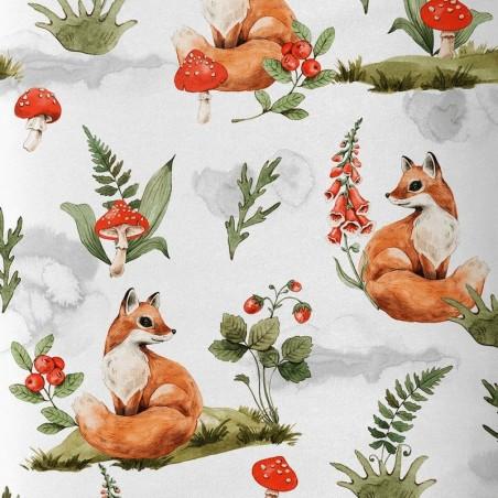 Tissu premium automne renard