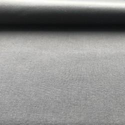 Tissu coton popeline gris...