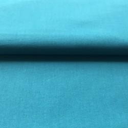 Tissu coton bleu canard...