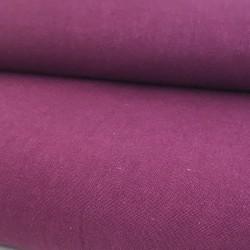 Tissu coton prune  (vendu...