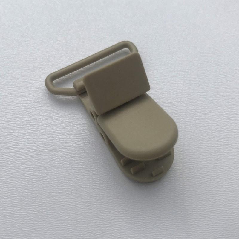 Clip / Attache tétine - Beige foncé