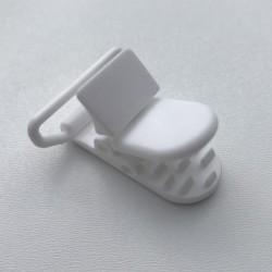 Clip / Attache tétine - blanc