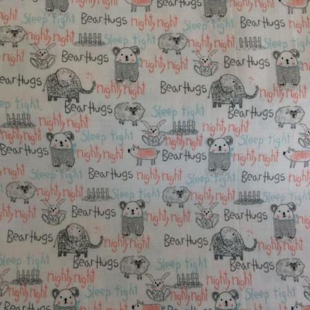 """Tissu Art gallery Fabrics """" Si petits """" (vendu par 10 cm)"""